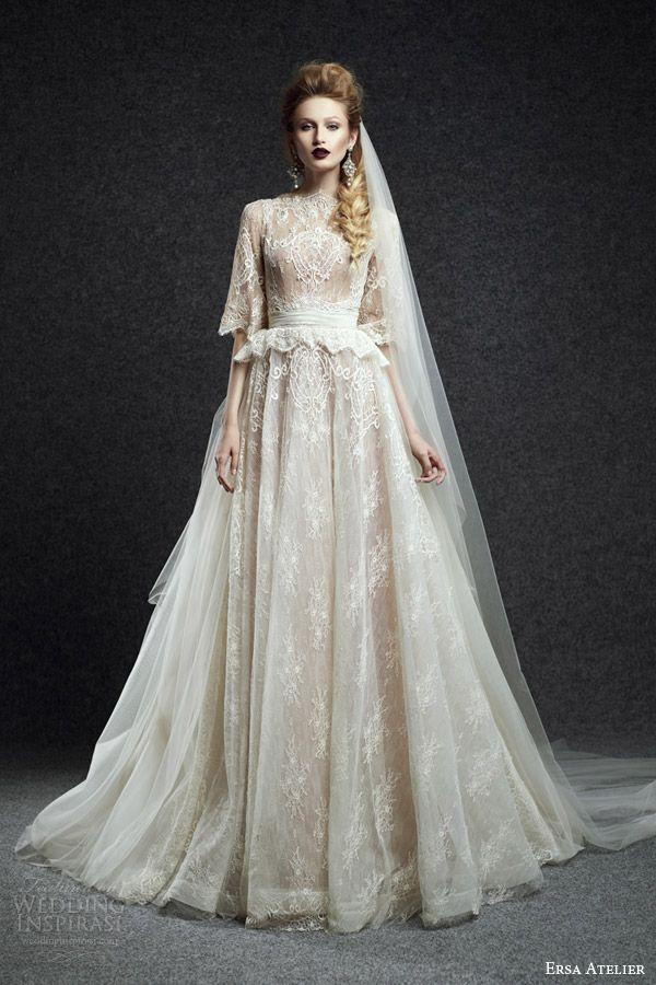 Ersa Atelier Fall 2015 Wedding Dresses | Wedding Inspirasi