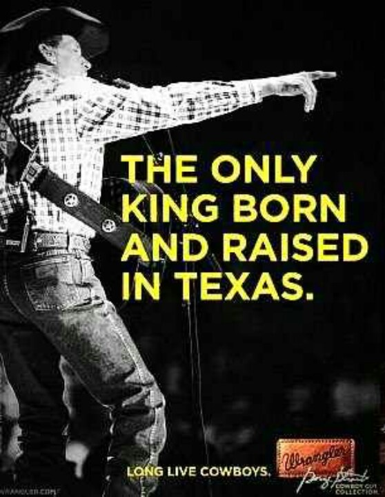 love me some George Strait!! can't wait to see his final show in Arlington