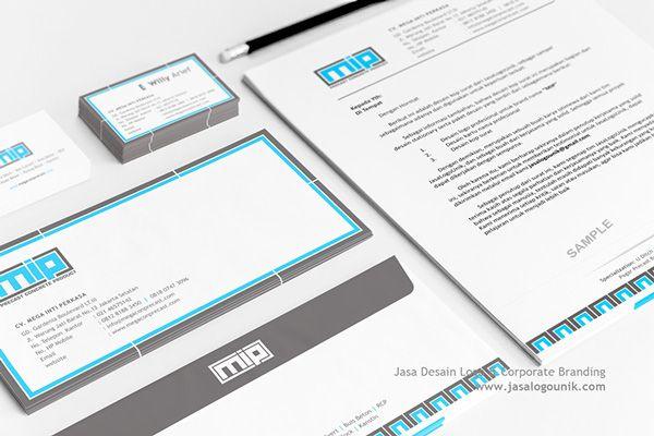 MIP | Desain Logo & Branding Stationary on Behance
