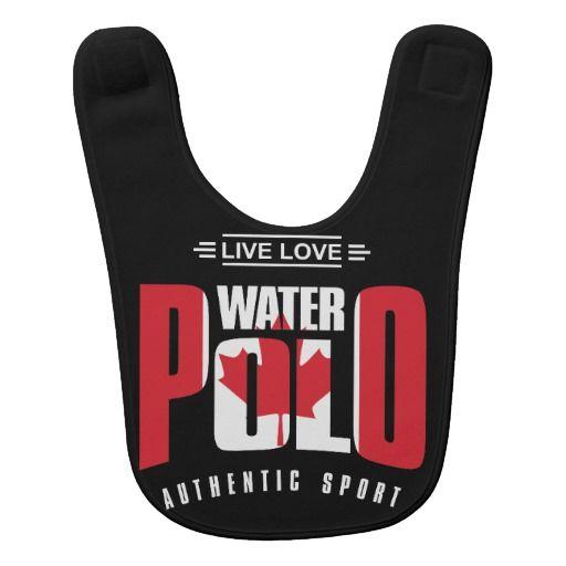 Leef het Polo Canada van het Water van de Liefde Slabbetjes