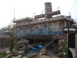 Ship Wreck at Ushaka, Durban, South Africa