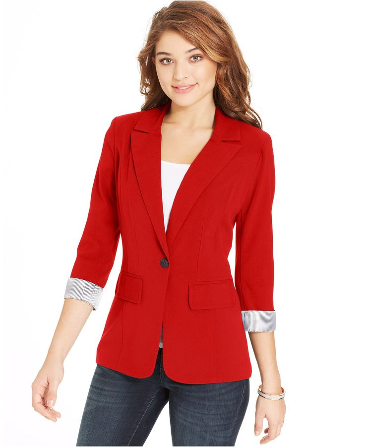 1000+ Ideas About Red Blazer On Pinterest