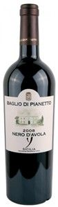 Professional review of Baglio Di Pianetto Nero D'avola 2009, food pairings, store stock locations, prices, serving tips for this wine and more wines you'll enjoy