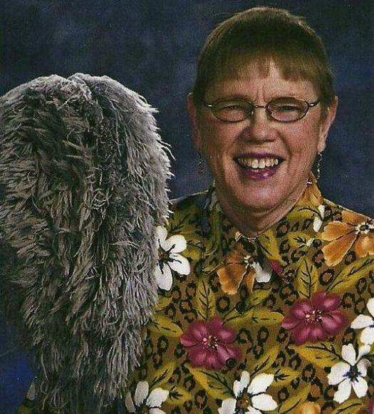 Despite family objections, Aunt Nan still married her dust mop.