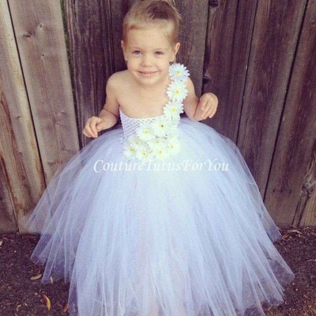 pinterest flower toulle dresses | Request a custom order and have something made just for you.