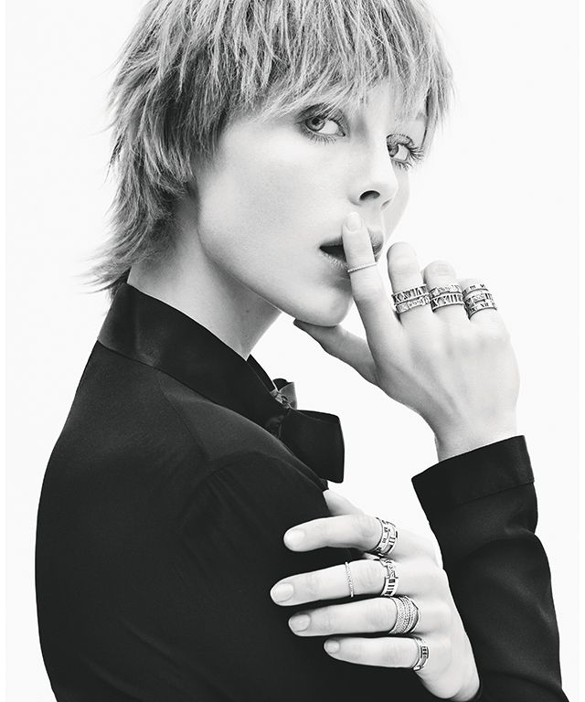 Brit It-girl Edie Campbell stuns in the first ever Tiffany magazine, Buro 24/7 Australia