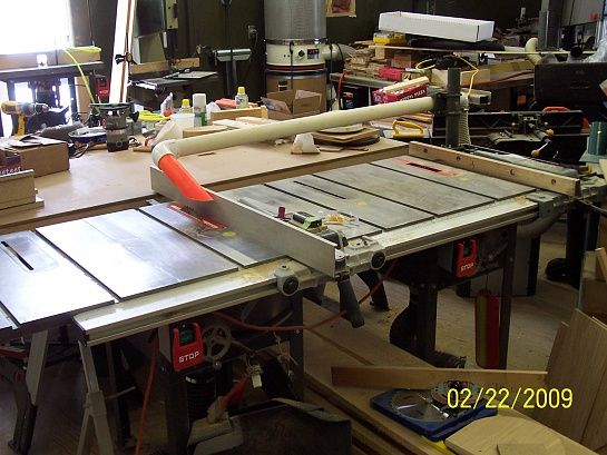 You Can T Have Too Much Table On A Table Saw Rustic