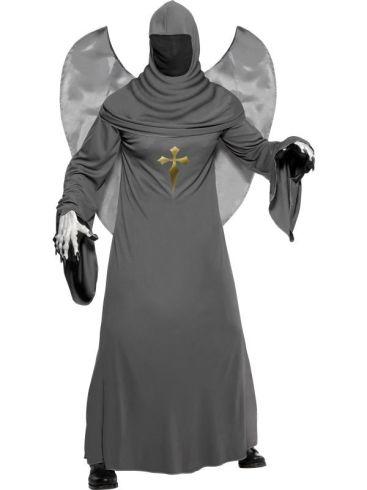 Disfraz Ángel de la muerte con alas (talla m)