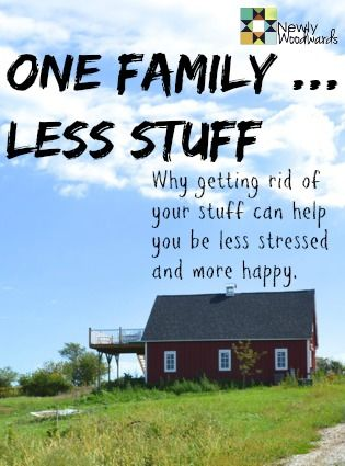 Do you feel suffocated by stuff? Are the things that you have accumulated making you stressed and busy? This blogger shares all the stuff she thought she needed and actually doesn't. By getting rid of most of her family's stuff and downsizing to 320-square-feet, she has more time and less stress