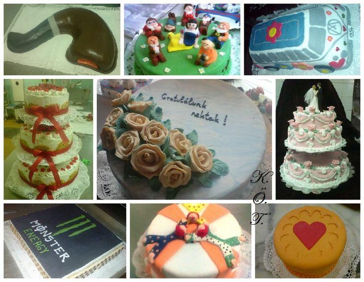 Tortáim 2. / My cakes 2.