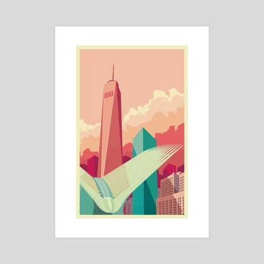WTC NYC by Remko Gap Heemskerk
