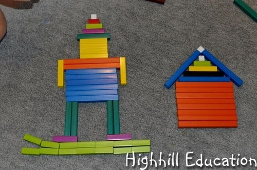 Cuisenaire Rods - How to use them for beginning math