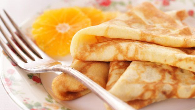 Gordon Ramsay: crepes suzette. A classic dessert but so easy to make. I wonder if you can hear Chef Ramsay cussing you out as you eat it...