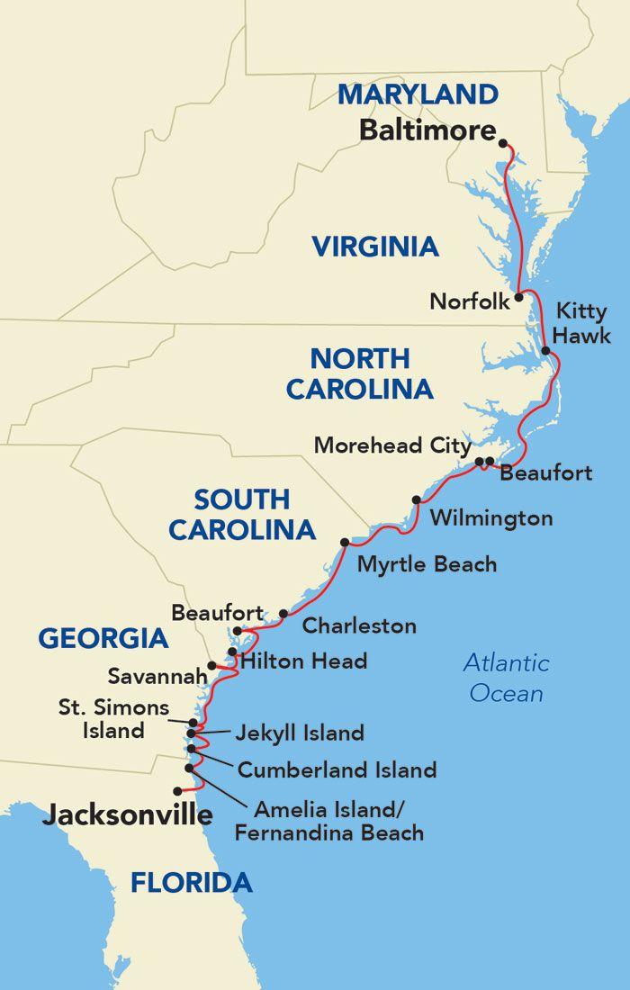 East Coast Inland Passage Atlantic Coastal Small Ship Expedition