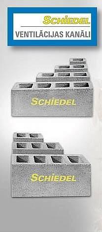 Ventilācija Schiedel!