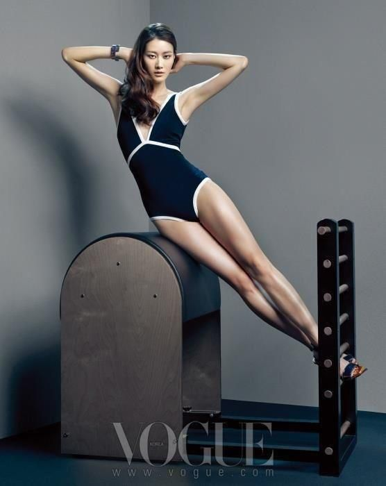 #Vogue does #Pilates. Two #classics.