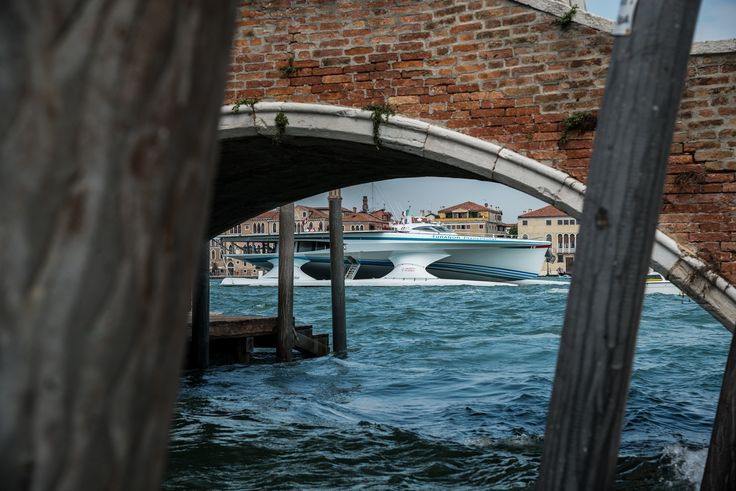Planet Solar in Venice, saturday 20th september