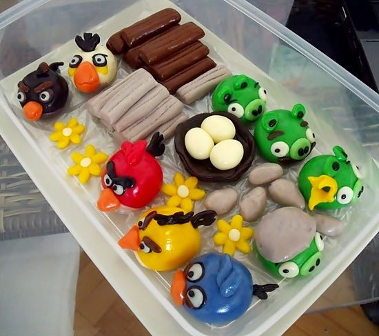 Marcipánoví Angry Birds | Moje mozkovna