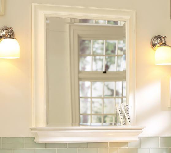 Web Photo Gallery Emerson us and guest bath Metropolitan Mirror with Shelf