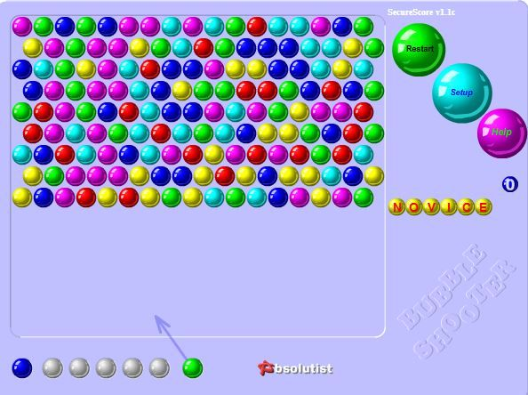 Are you sure you have nothing urgent to do? Enjoy Bubble Shooter online absolutely free.