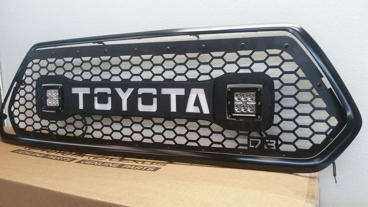 DB Customz 2016+ Tacoma Grille insert for Cube LED Lights [DBC-16-TACO-CUBE-GRILLE] - $589.00 : Pure Tacoma Accessories, Parts and Accessories for your Toyota Tacoma