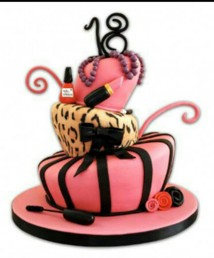 For my drama queen 18th birthday cake for girls, 18th