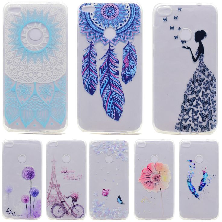For P8 lite 2017 case HD printing Soft TPU back cover for fundas Huawei P8 lite case 2017 new arrivals coque for Honor 8 Lite