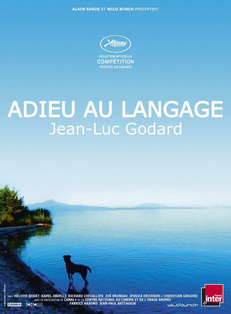 """Adieu au Langage est un film de Jean-Luc Godard avec Héloïse Godet, Kamel Abdelli. Synopsis : """"Le propos est simple. Une femme mariée et un homme libre se rencontrent. Ils s'aiment, se disputent, les coups pleuvent. Un chien erre entre ville et"""