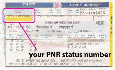 Now a days just by one click passengers can check there current  status of the pnr number.enter the pnr number in the box which is at home page of our site .