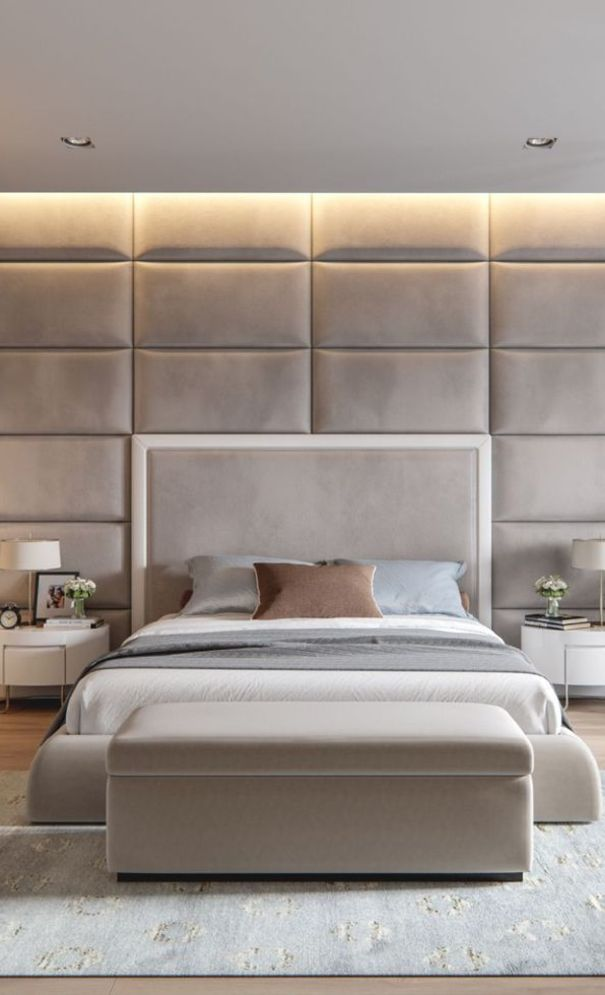 59 New Trend Modern Bedroom Design Ideas For 2020 Part 9 Luxury Bedroom Master Contemporary Bedroom Home Bedroom