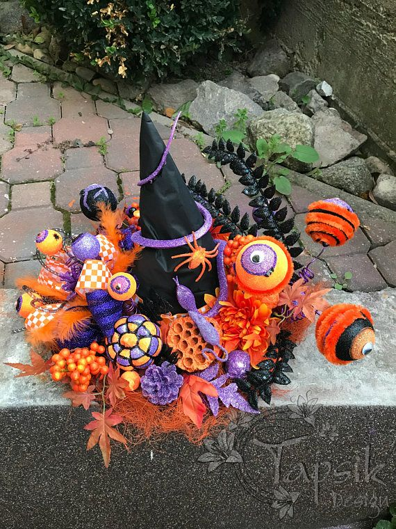 Witch Hat Halloween Witch Hat Halloween Table Decor