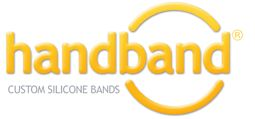 Handband :: Buy Silicon Wristbands - Custom Bracelets - Silicone Hand Bands