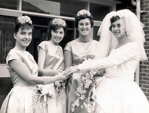 745 Best Images About Sixties Weddings On Pinterest