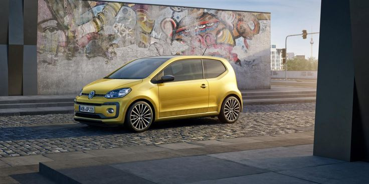 A new Volkswagen Up with a 1.0-litre turbocharged engine will be debuted at the Geneva motor show