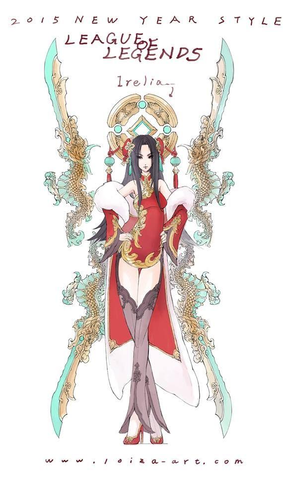 Irelia chinese art