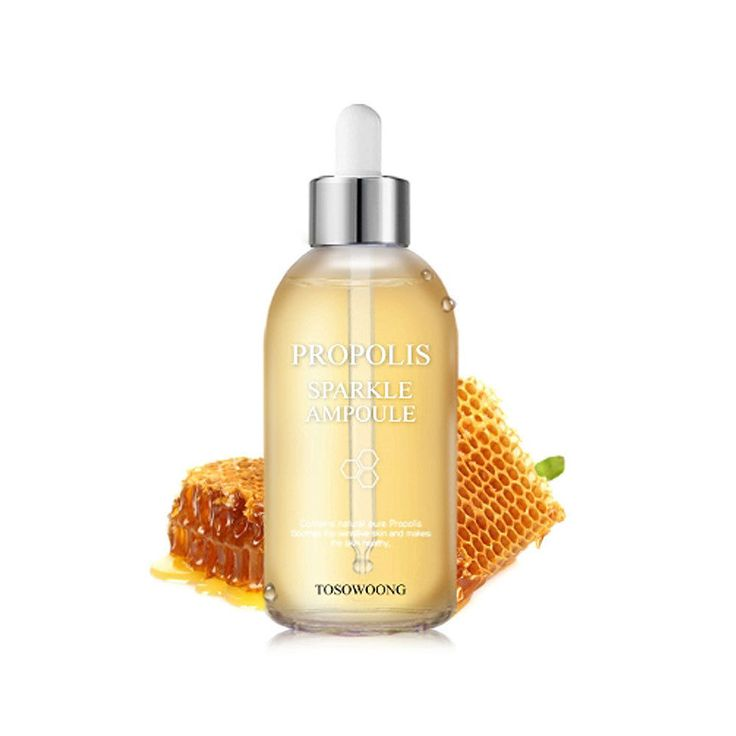 [TOSOWOONG] PROPOLIS SPARKLE AMPOULE 100ml. propolis extract raw propolis bee propolis royal jelly propolis liquid propolis spray propolis cream propolis toothpaste propol. - contains natural pure propolis (80%).   eBay!