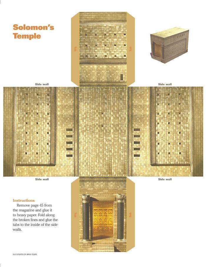 54 Best Solomon Temple Images On Pinterest Temples