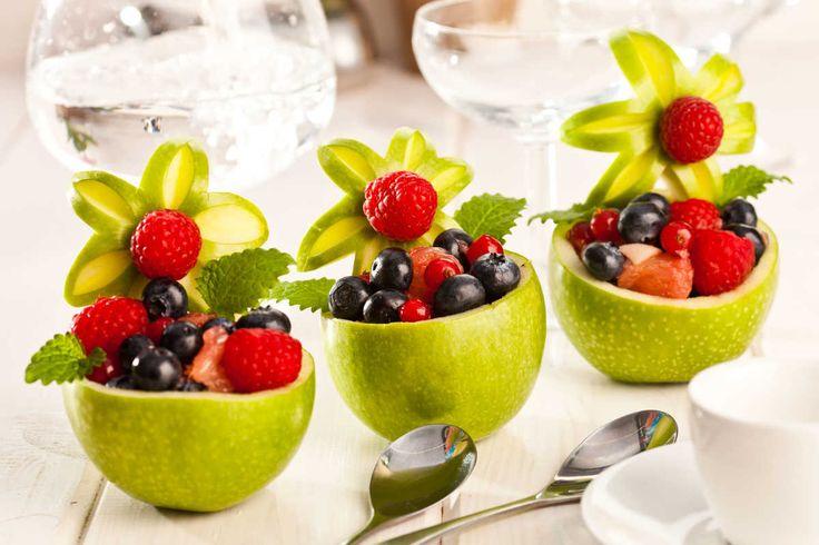 Jabłkowa miska na owoce