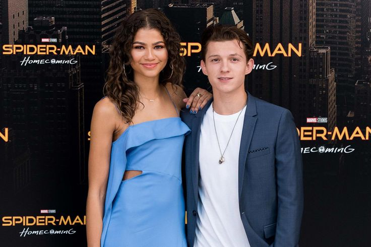 """They may just be friends in Spider-Man: Homecoming, but stars Tom Holland and Zendaya found romance in real life, a source tells PEOPLE. """"They started seeing each other while they were filming Spid…"""