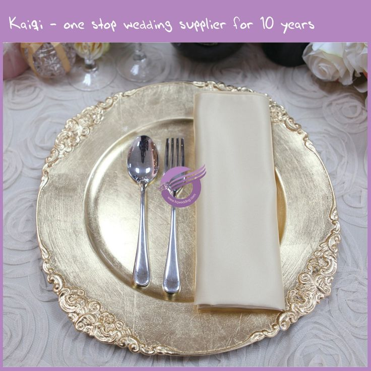 Pz22640 Whole Gl Gold Wedding Charger Plates High Quality Product On