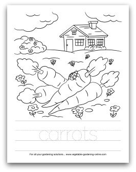 97 Best Images About Kids Printable Garden Worksheets