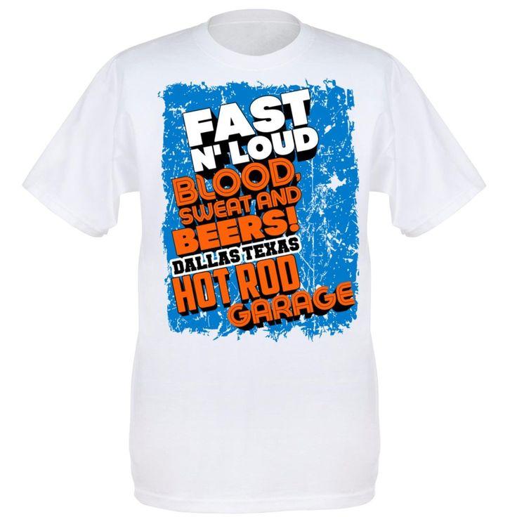 US Merch Clothing Co. - Fast N' Loud Splash Design T-Shirt, £12.99 (http://usmerch.co.uk/products/fast-n-loud-splash-design-t-shirt.html)