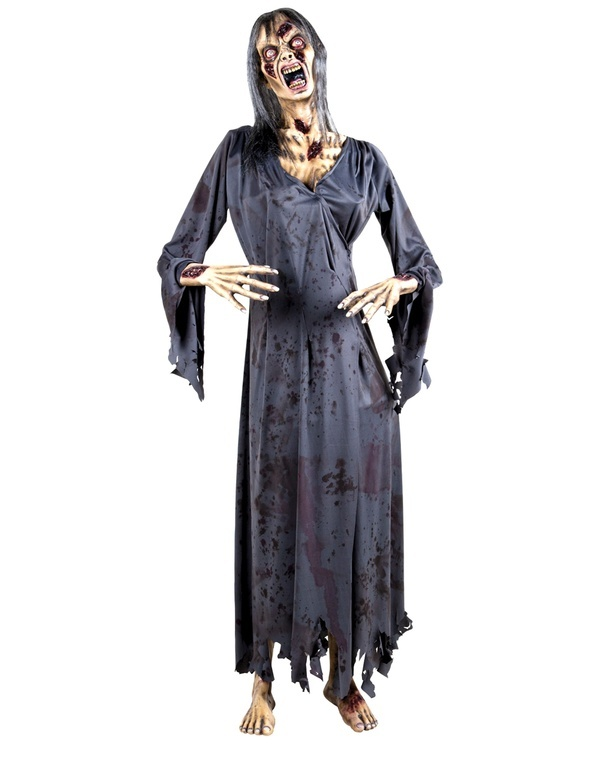 female zombie decoration only at spirit halloween