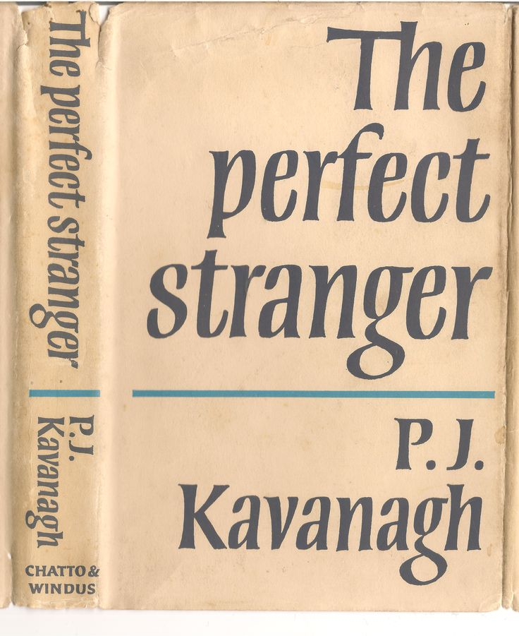 The Perfect Stranger, 1966 edition cover by Michael Harvey