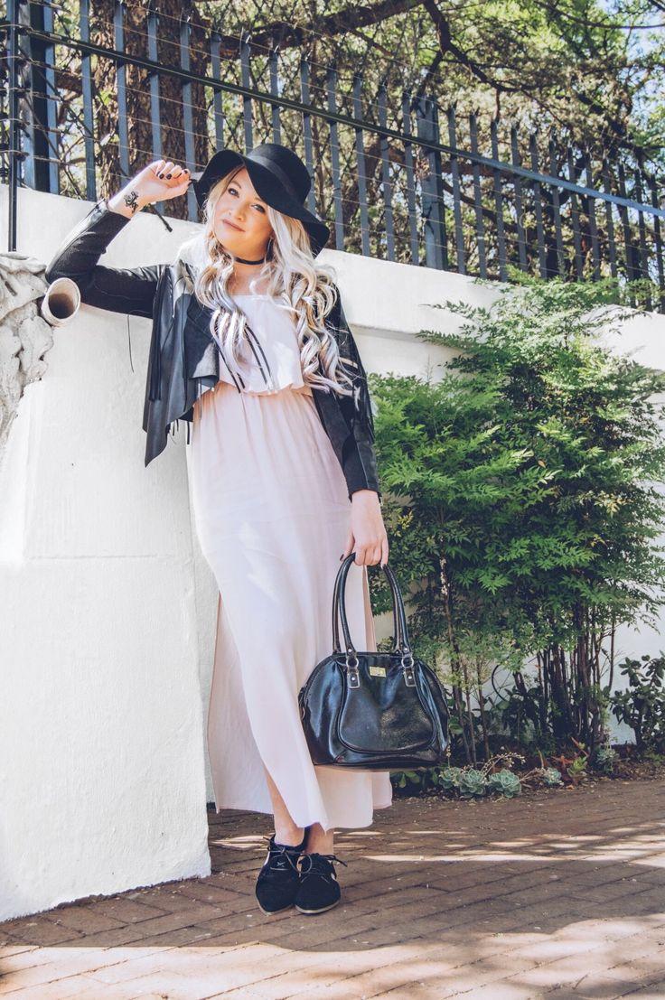 The Maxi Dress Styled with Fringe