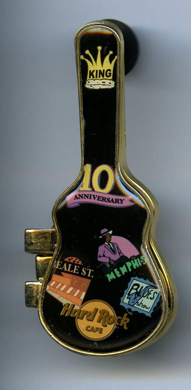 Memphis - Hard Rock Cafe Guitar Pin