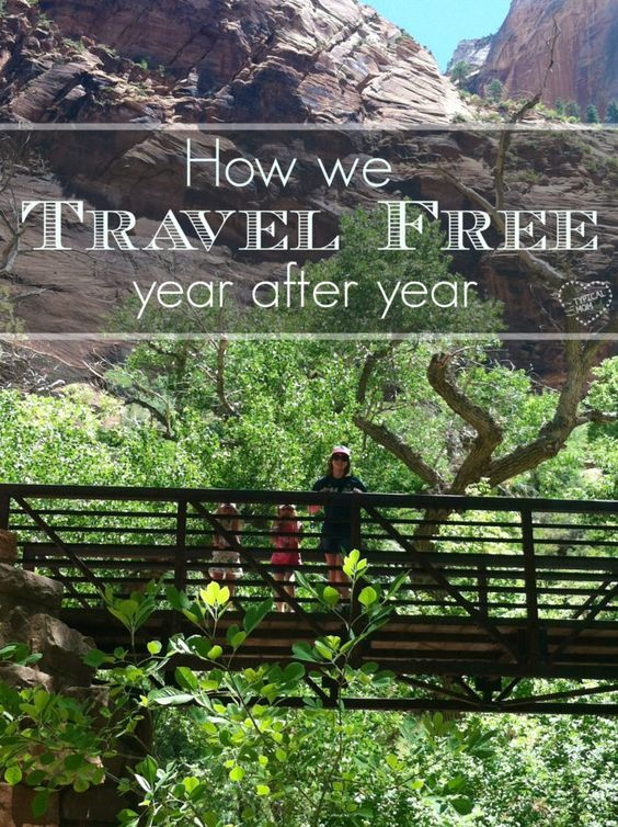 How we travel for free year after year with our kids, and tips on how you can too!!