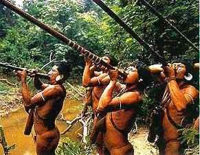 A tribo dos Kadwéu é conhecida devido aos seus grandes atiradores de flecha, que durante a caça conseguiam muita peles de veados e cervos que eram usadas principalmente durante o inverno. A caça da onça pintada era muito importante para a tribo, principalmente porque eram elas que devoravam os equinos. E também porque sua pele era usada na confecção de casacos para a Guerra, pois acreditava-se que a coragem do animal morto conservava-se em sua pele e protegia quem a usasse.  Caçavam muitos…