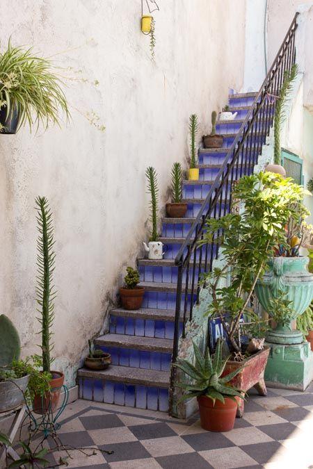 Escalera Azul....