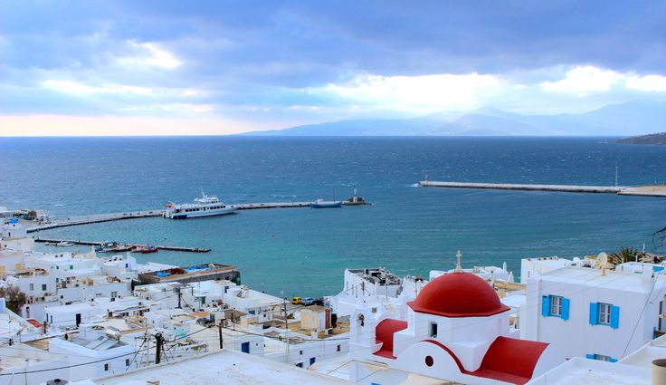 Mykonos Greece  click photo for travel blog